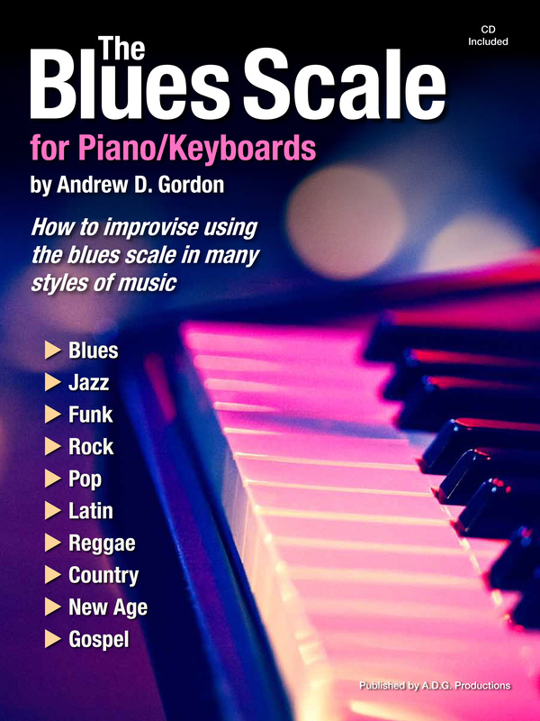 The Blues Scale for Piano/Keyboards PDF/mp3 files