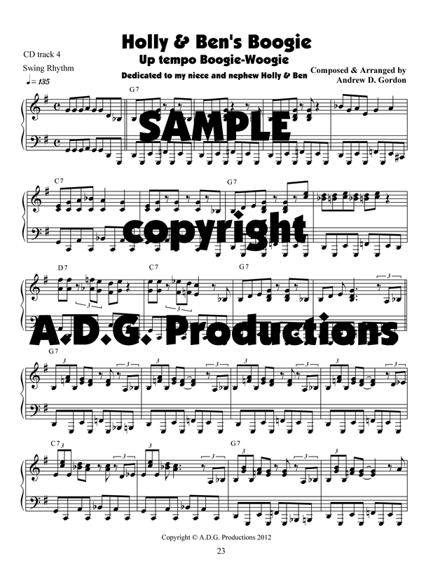 Blues Piano - DIGITAL SHEET MUSIC DOWNLOADS