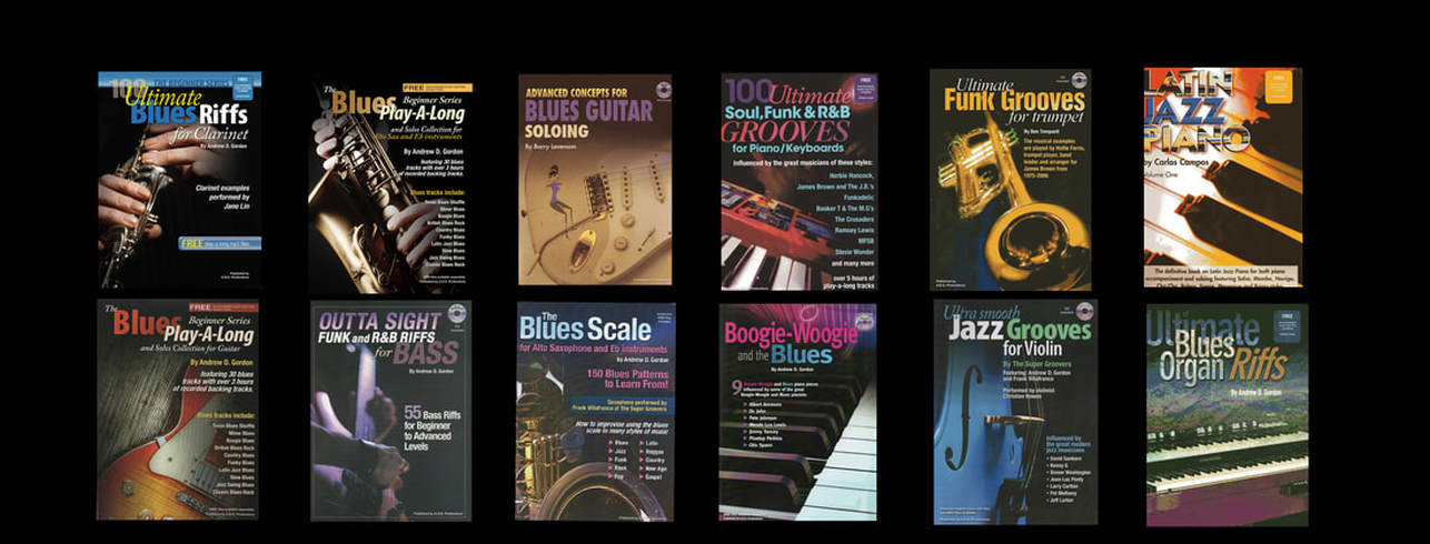 The Blues Scale for Tenor Sax and Bb instruments - DIGITAL SHEET