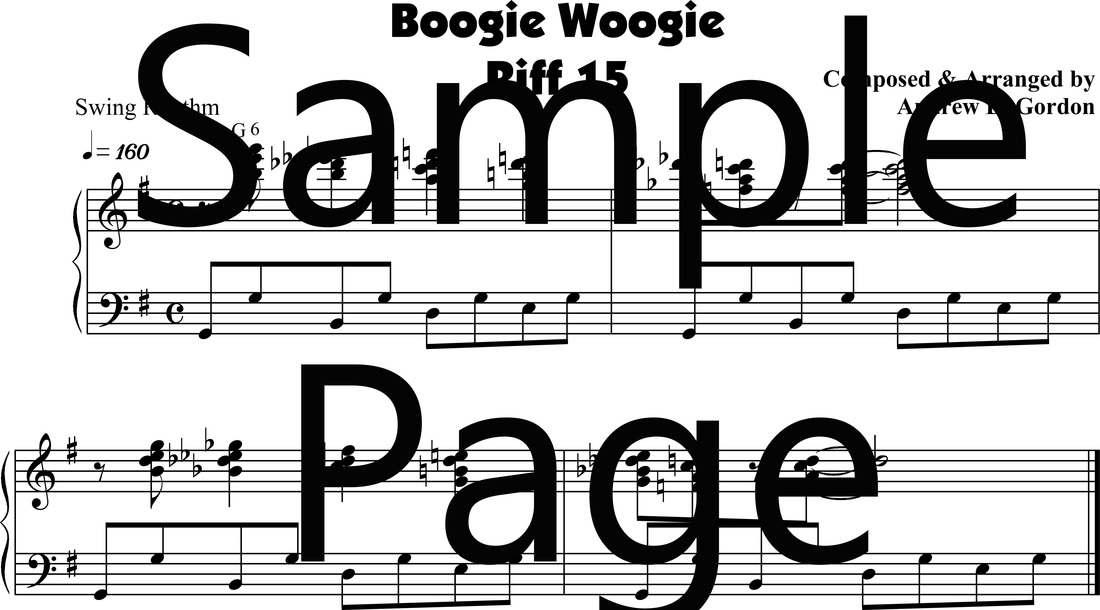 boogie-woogie piano lessons - DIGITAL SHEET MUSIC DOWNLOADS