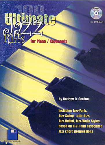 100 Ultimate Jazz Riffs for Piano/Keyboards - DIGITAL SHEET