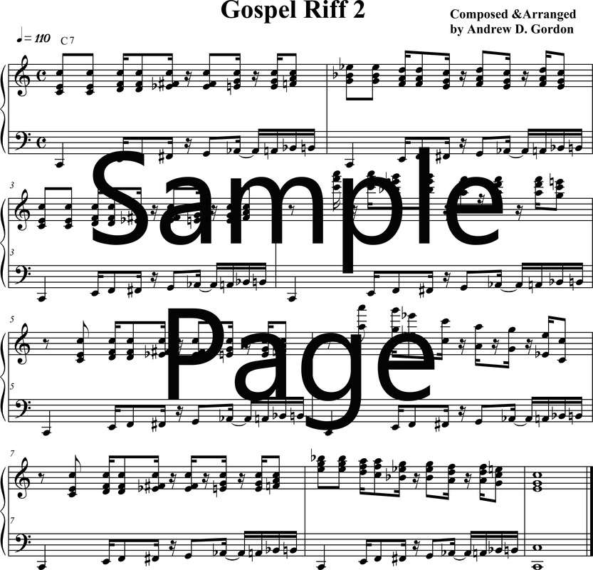Gospel Piano/Keyboard Lessons - DIGITAL SHEET MUSIC DOWNLOADS