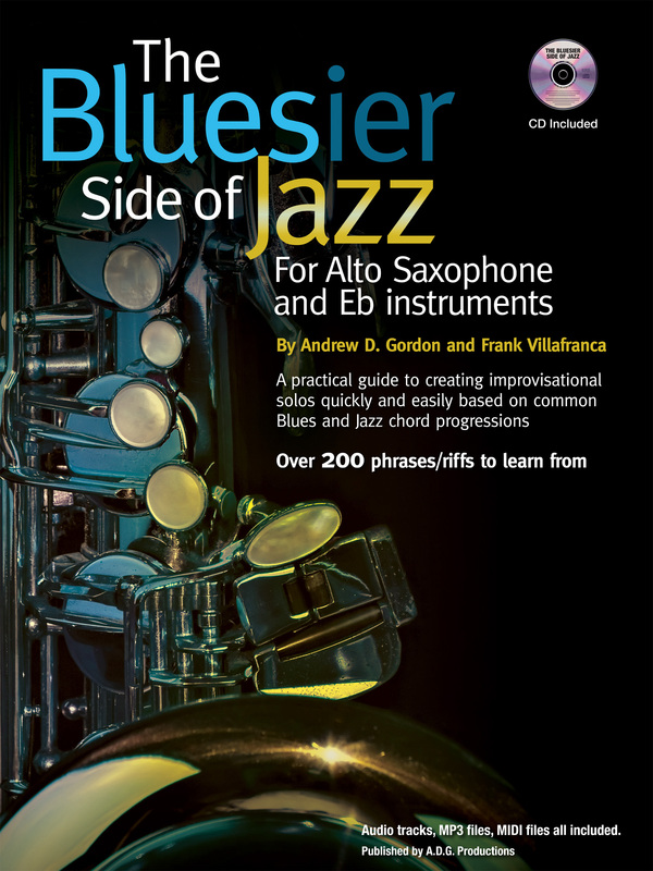 The Bluesier Side Of Jazz for Alto Sax & Eb instruments
