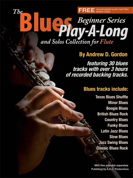 The Blues Play-A-Long and Solos Collection for Flute